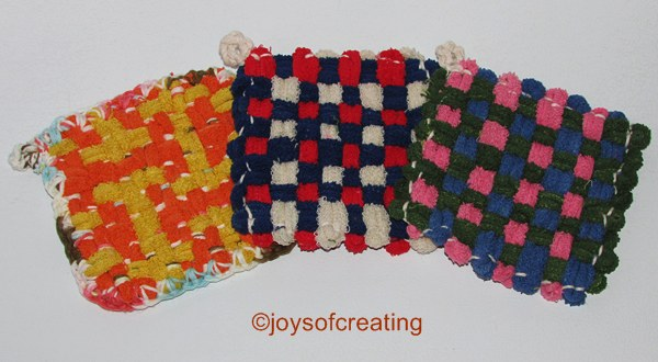 Potholders On A Martha Stewart Loom Joys Of Creating