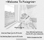 pixiegrins.com
